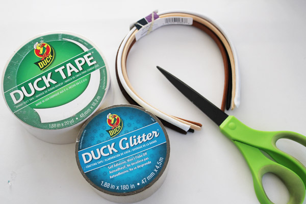 Duck Tape Bunny Ears Supplies