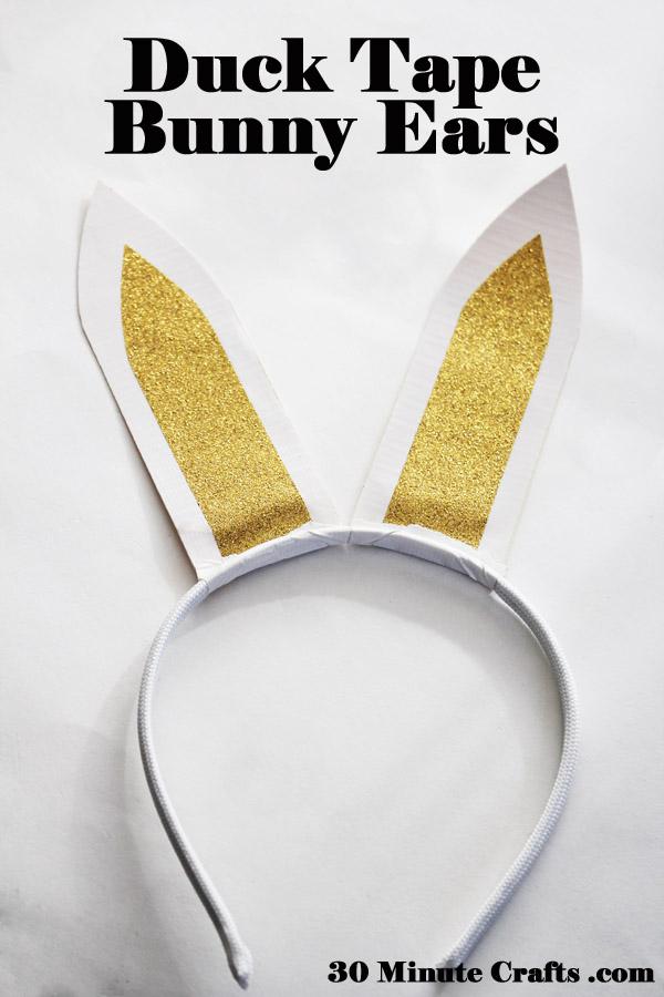 Duck Tape Bunny Ears