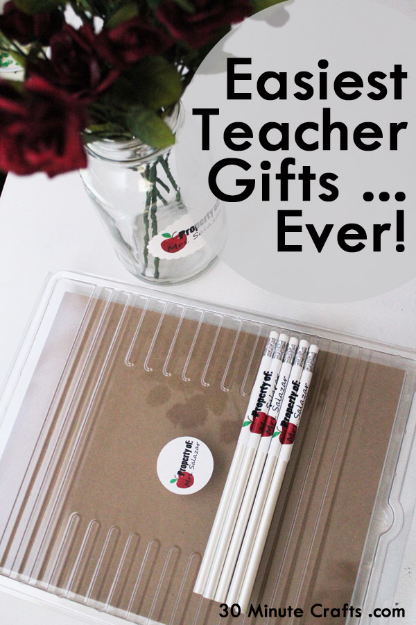 Easiest Teacher Gifts Ever
