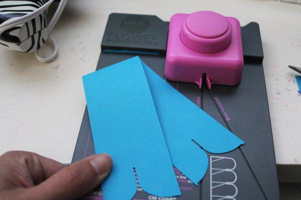 fold paper ribbon
