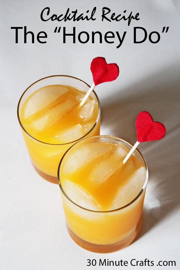 Cocktail Recipe The Honey Do copy