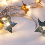 DIY Extra Sparkly Twinkle Lights