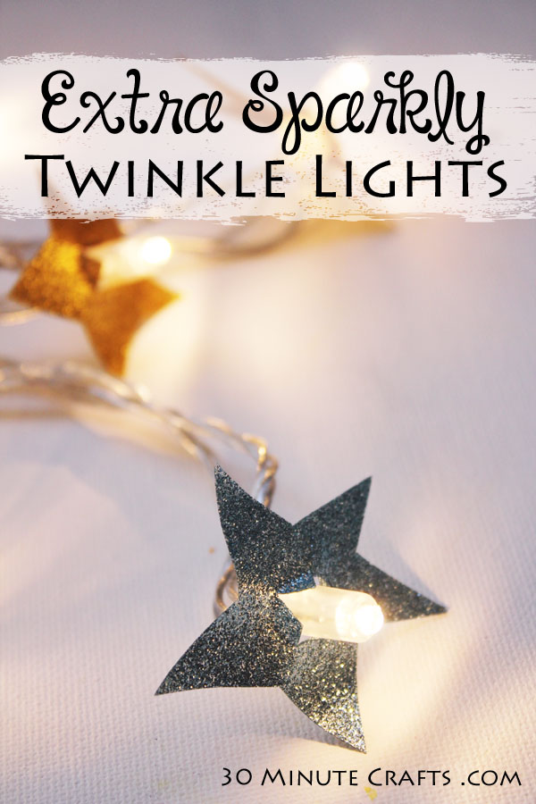 Extra Sparkly Twinkle Lights