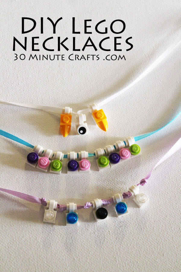 make your own lego necklaces