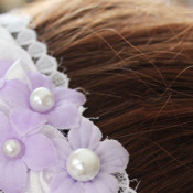 DIY Flower Girl Headband