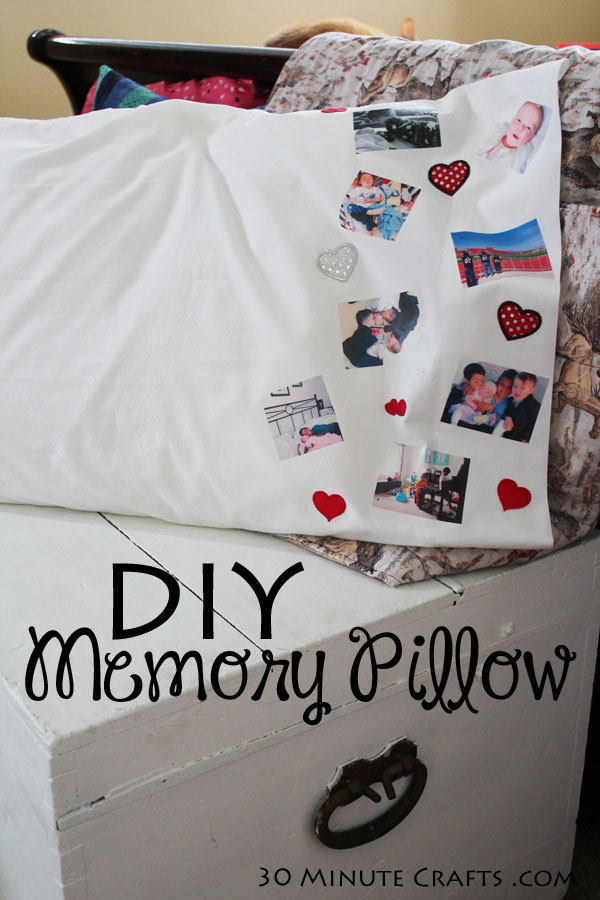 DIY Memory Pillow