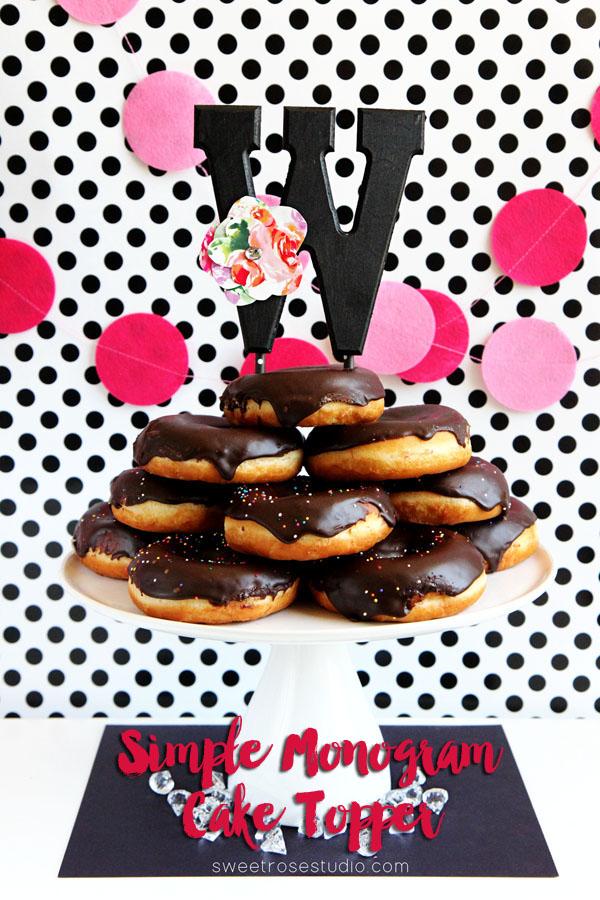 Simple-Monogram-Cake-Topper-at-Sweet-Rose-Studio