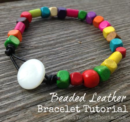Beaded-Leather-Bracelet-Tutorial
