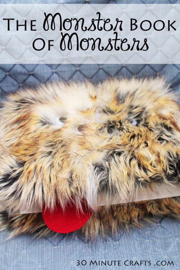 DIY Monster book of Monsters in just 30 Minutes