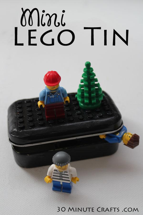 Mini Lego Tin