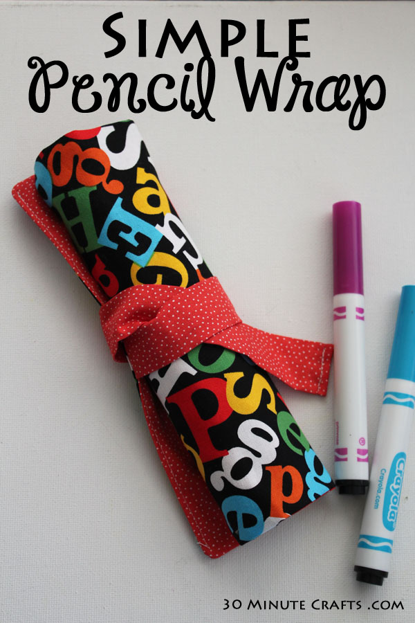 Simple Pencil Wrap