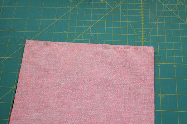 stitch down side with gap