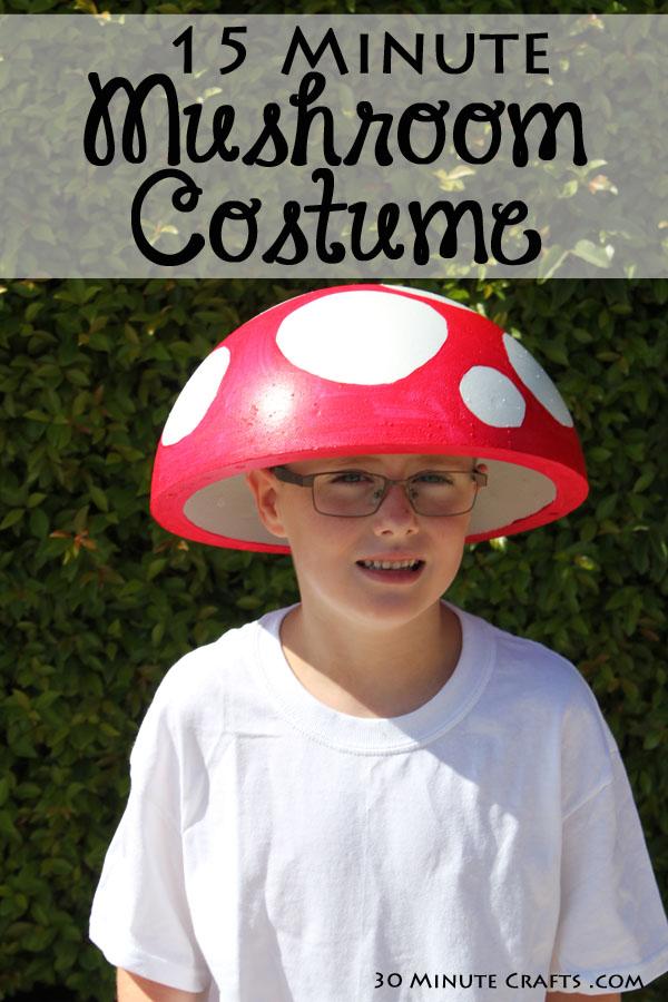 15 Minute Mushroom Costume