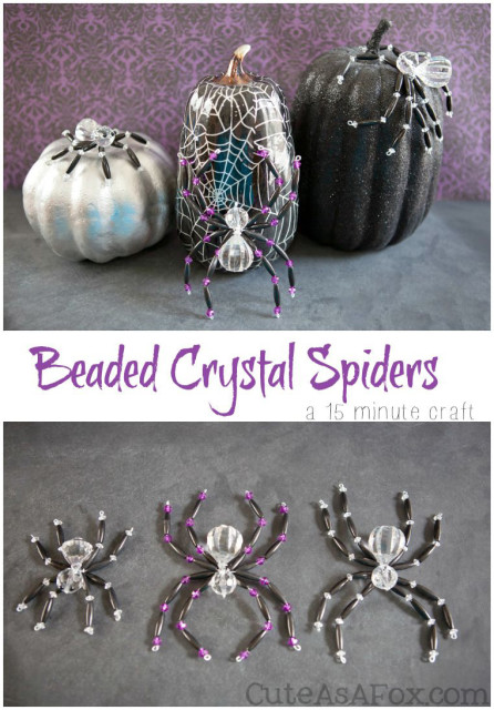 Beaded-Crystal-Spider-Quick-Halloween-Craft-Title-446x640
