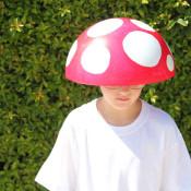 DIY Costume - Mushroom in 15 minutes!