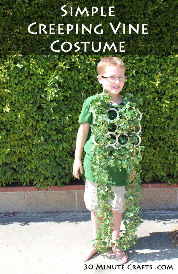 Simple Creeping Vine Costume