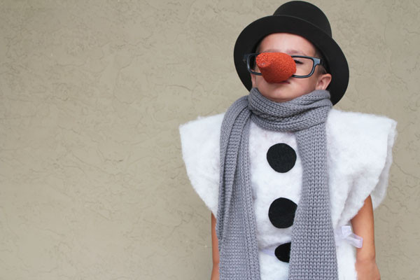 Snowman Costume in 15 Minutes
