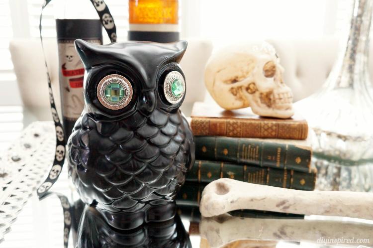 Upcycled-Halloween-Owl