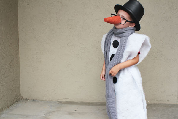 Wanna be a Snowman - for Halloween