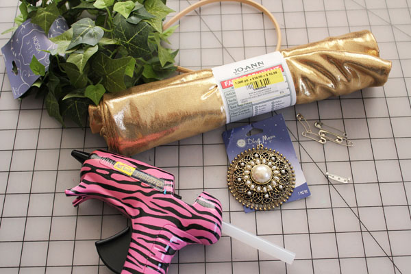 supplies for toga costume