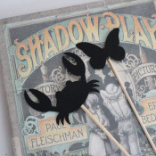 Shadow Play puppets book