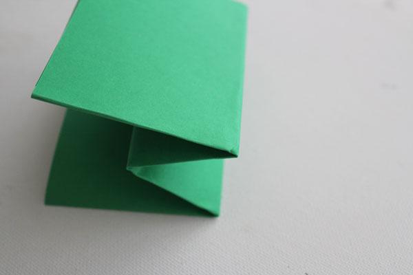 fold sides back