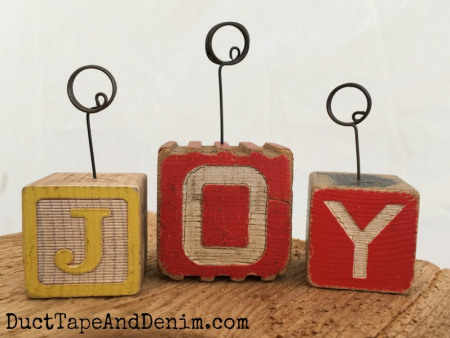 JOY-Vintage-childrens-wood-block-photo-holders-tutorial-DuctTapeAndDenim.com_