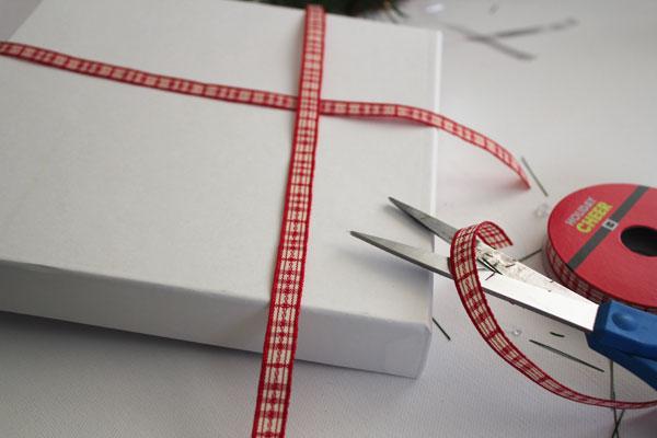 cut ribbon to length