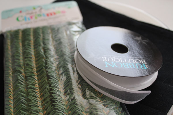 supplies for ribbon napkin ring