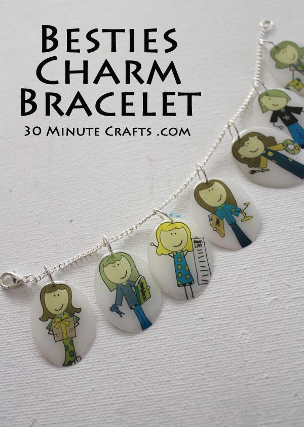 Make a besties charm bracelet