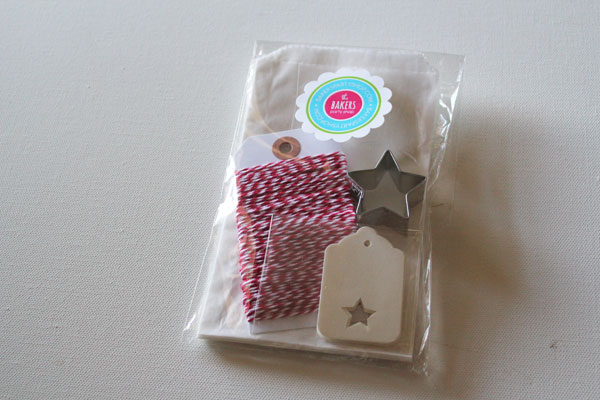 cookie wrapping kit from the Baker's Party Shop