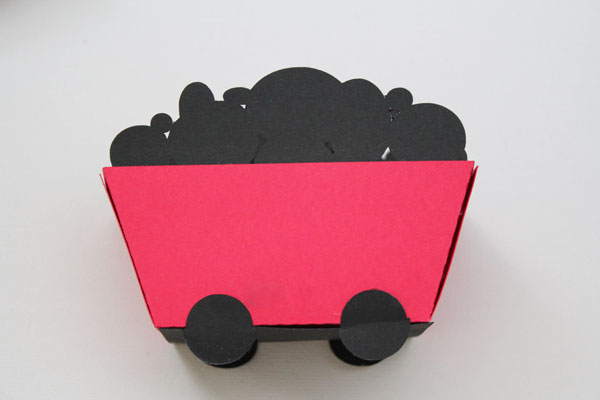 finished coal cart gift box