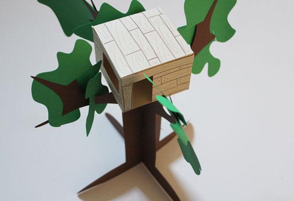 finished magic treehouse