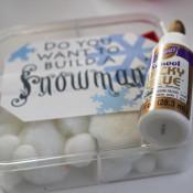 finished snowman kit