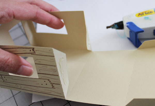 glue flaps