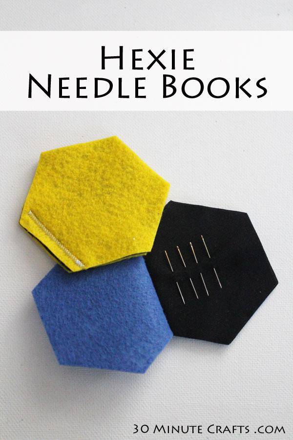 Hexie needle books