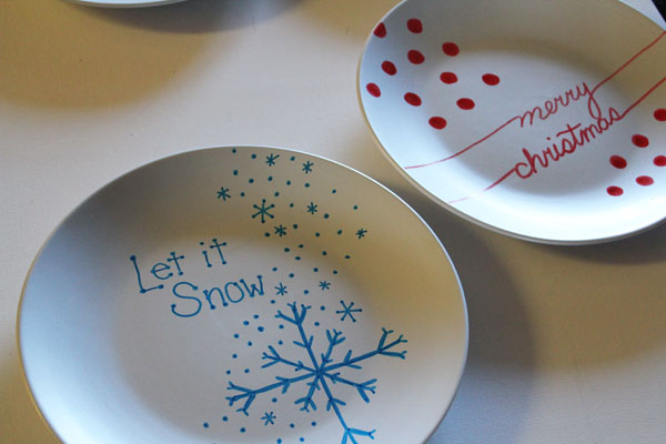 make plates for cookies