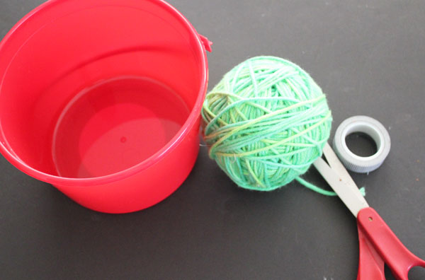 supplies to make lots of pom poms