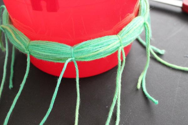 tie strings