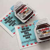 Nutella printable valentines