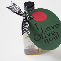 olive oil printable valentine tag