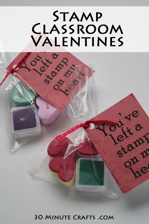 Stamp Classroom Valentines