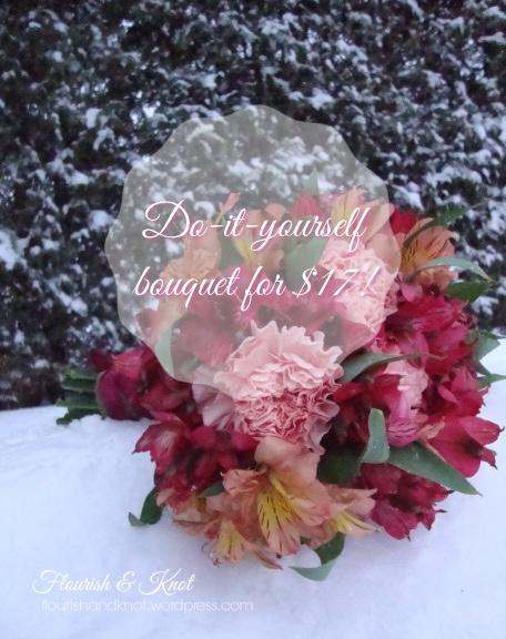 diy bouquet from flourish & knot
