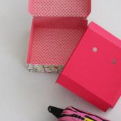 glue box and fold insert