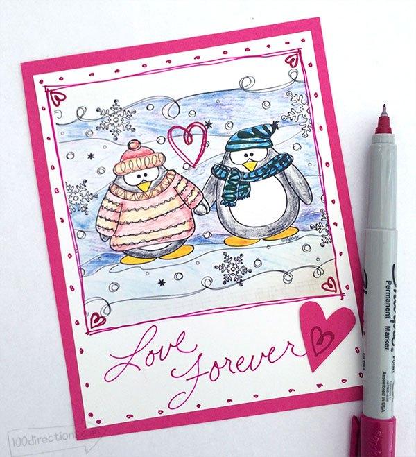 penguin-coloring-page-valentine-jen-goode