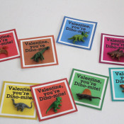 printable toy dinosaur valentines