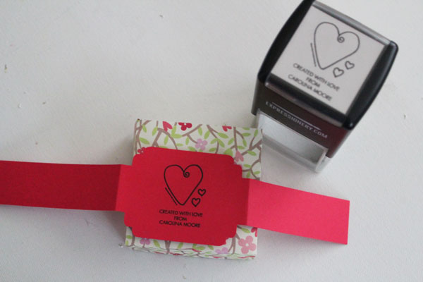 stamp and wrap