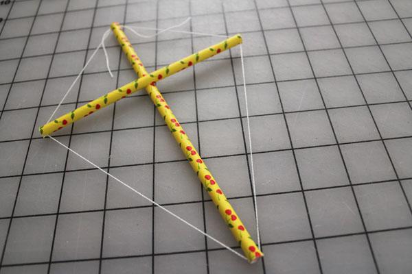 string around edges