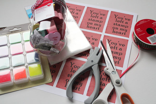 supplies for classroom valentine