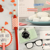 valentine printables from Wayfair
